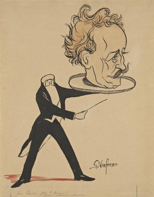 Richard Strauss © Bibliothèque de New-York, département musique