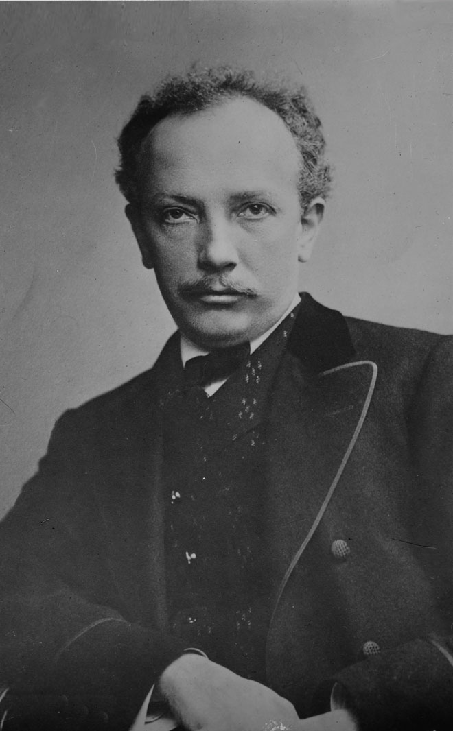 Portrait de Richard Strauss © Library of Congress