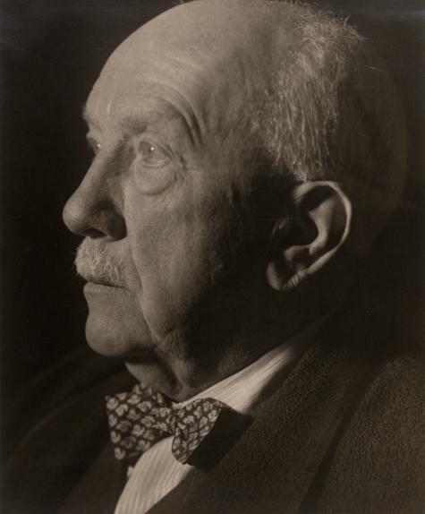 Richard Strauss, portrait de Hildegard Jaeckel, 1944. Österreichische Nationalbibliothek