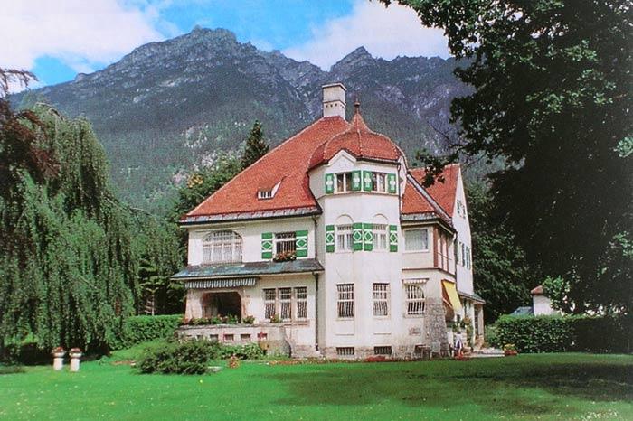 La villa des Strauss à Garmisch-Partenkirchen © D.R