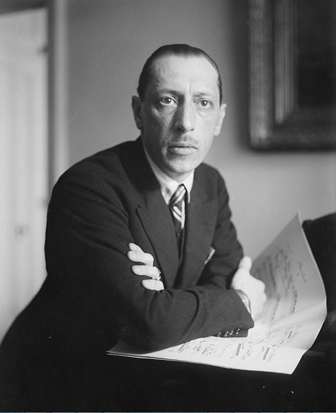 Stravinski Igor © DR wikimedia
