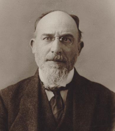 Portrait de Erik Satie, photographie de P. Delbo © Gallica-BnF