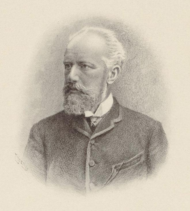 L. Denis, Tchaïkovski © Gallica-BnF