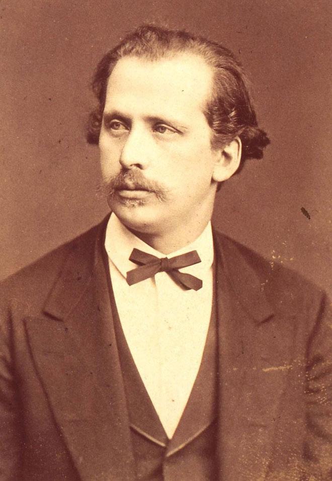 Nicolas Rubinstein, photographie de Fritz Luckhardt © Gallica-BnF