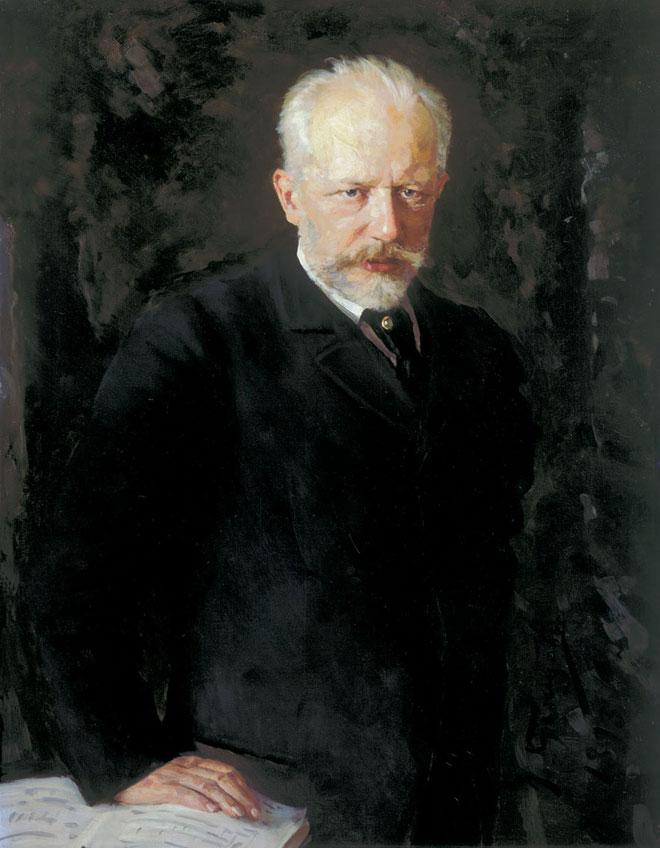 Nikolaï D. Kuznetsov, Piotr Illitch Tchaïkovski © Tretyakov Gallery
