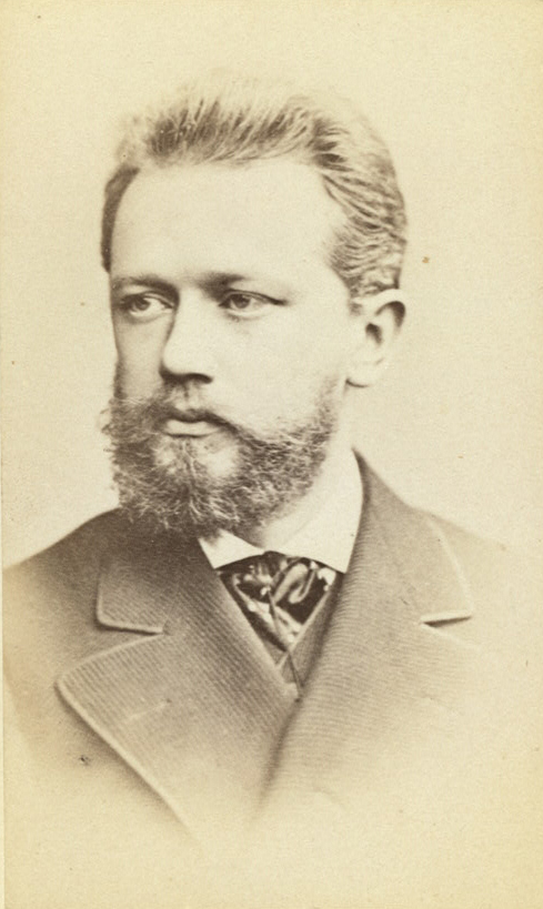 Piotr Ilitch Tchaïkovski, carte de visite, photo de Vezenburg & Co, 1880-1890. Library of Congress