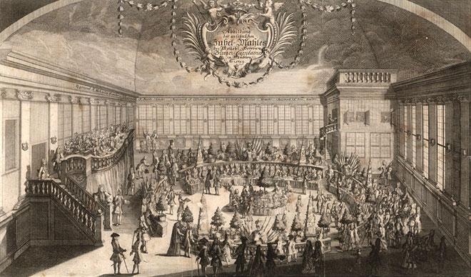 Salle de concert où Telemann fait entendre ses musiques festives et oratorios © Telemann Museum