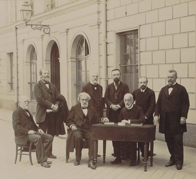 Eugène Pirou, Centenaire du Conservatoire national de musique et de déclamation, 1795-1895 © Gallica-BnF