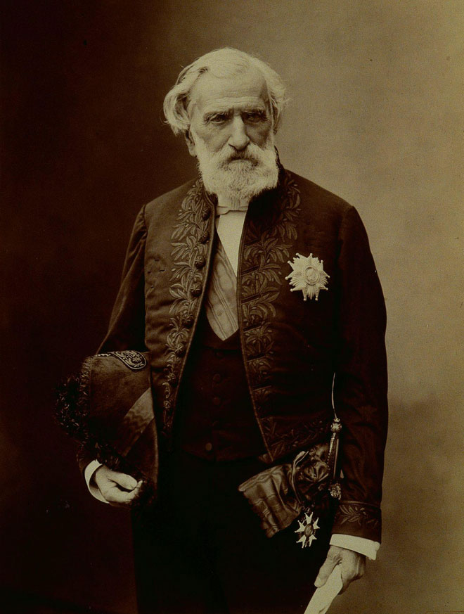Paul Nadar, Portrait d'Ambroise Thomas © Philharmonie de Paris, J.-M. Anglès
