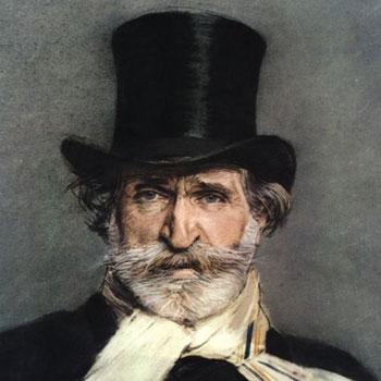 Portrait de Giuseppe Verdi, peinture de Giovanni Boldini, 1886. Galerie nationale d'art moderne et contemporain, Rome