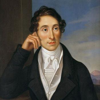 Portrait du compositeur Carl Maria von Weber, par Caroline Bardua, 1821 © Bellevue Palace
