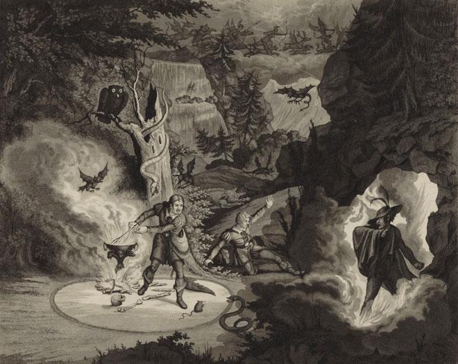Illustration du Freischütz, 1821-1826 © Gallica-BnF