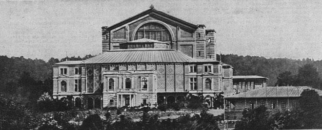 Le théâtre de Bayreuth, Revue Musica, Janvier 1914 numéro 136 © INHA.
