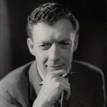 Portrait du compositeur Benjamin Britten par Howard Coster en 1938 © National Portrait Gallery London