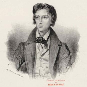 Portrait du compositeur Franz Liszt jeune © RMN / image Compiègne