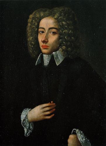 Portrait de Giovanni Battista Pergolesi. Source: Conservatoire San Pietro a Majella de Naples