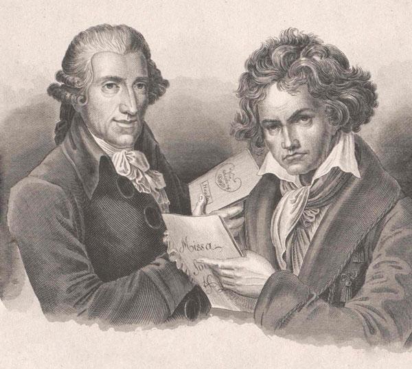 Haydn et Beethoven. Österreichische Nationalbibliothek