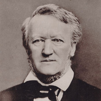 Portrait du compositeur Richard Wagner © BnF