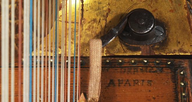 Harpe, Jean Henri Naderman, 178, E.2002.13.3 © Musée de la musique - Photo Jean-Marc Anglès