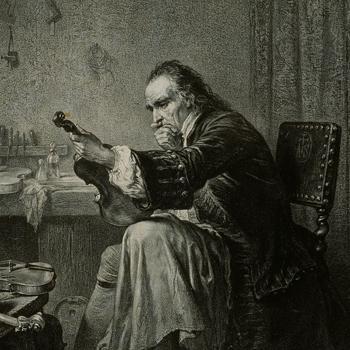 découvrir le portrait d'Antonio Stradivari