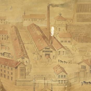 Usines Pleyel, anonyme, dessin, E.01657 © Musée de la musique - Photo Claude Germain