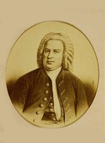 Jean-Sébastien Bach, gravure E. Neurdein
