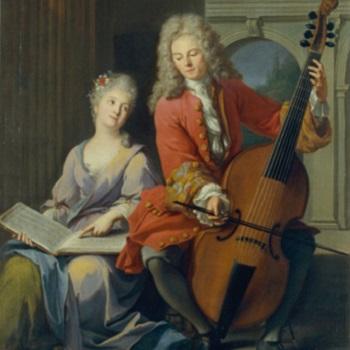 La leçon de musique - Jean-Marc Nattier (1685-1766) - Musée de la musique