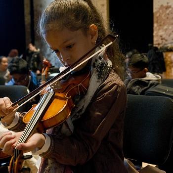Orchestre Démos-Cité de la musique-Philharmonie de Paris © Bertrand Gaudillère