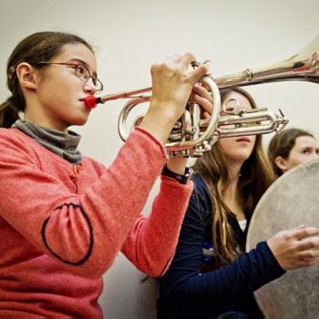 Atelier cuivres scolaires-Cité de la musique-Philharmonie de Paris © William Beaucardet