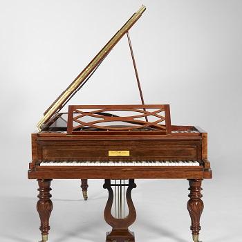 Piano à queue, Maison Pleyel, 1839, Paris - Musée de la musique