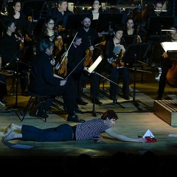 Jérémy Barbier d'Hiver, comédien Symphonie pour une plume
