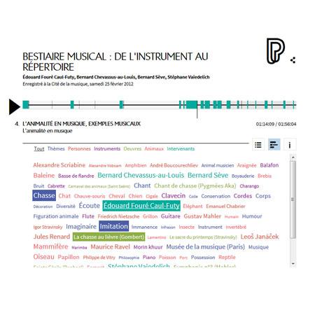 Conférence en ligne : Bestiaire musical : de l'instrument au répertoire
