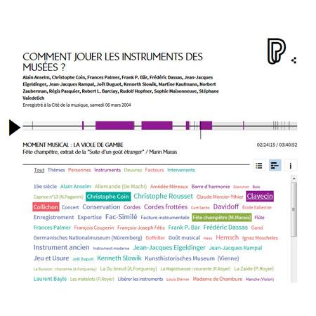 Conférence en ligne : Comment jouer les instruments des musées ?