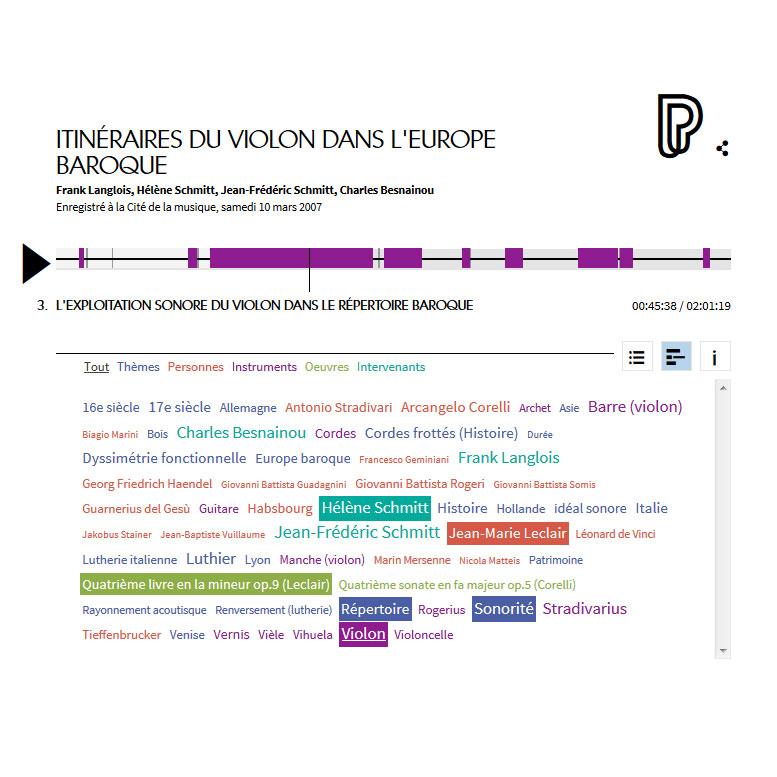 Conférence en ligne : itinéraires du violon dans l'Europe baroque