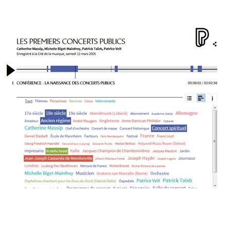 Conférence en ligne : les premiers concerts publics
