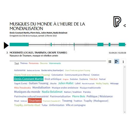 Conférence en ligne : Musiques du monde à l'heure de la mondialisation