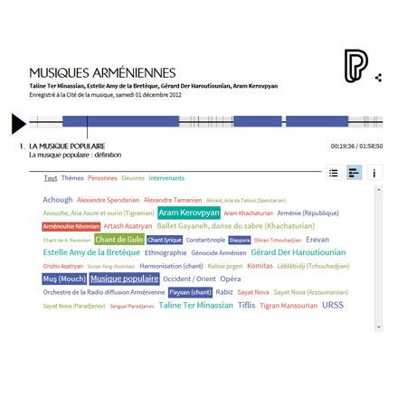 Conférence en ligne : Musiques arméniennes