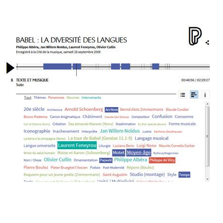 Conférence en ligne : la diversité des langues : Babel