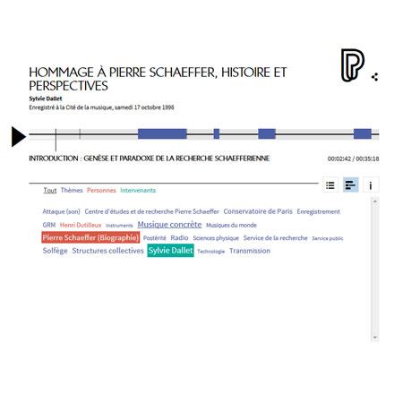Conférence en ligne : hommage à Pierre Schaeffer