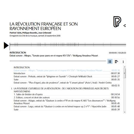 Conférence en ligne : la Révolution française et son rayonnement européen