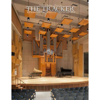 Tracker (The) - Organ historical society