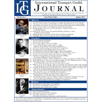 ITG Journal (International Trumpet Guild)