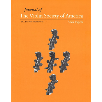 Journal of the violin society of America