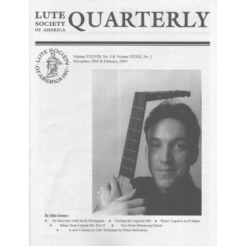Lute quarterly