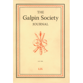 Galpin society journal