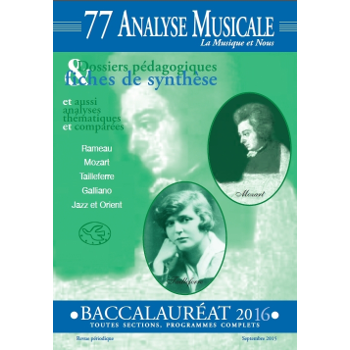 Analyse musicale
