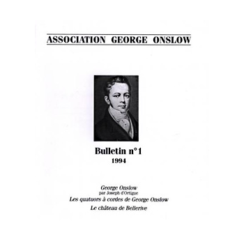 Bulletin de l'association George Onslow