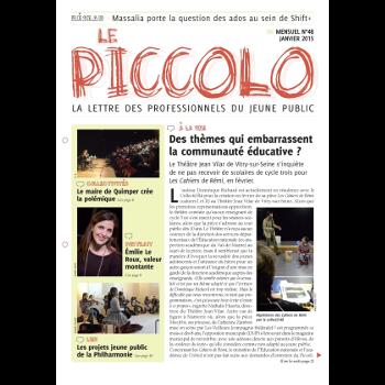 Piccolo (Le), professionnels du jeune public