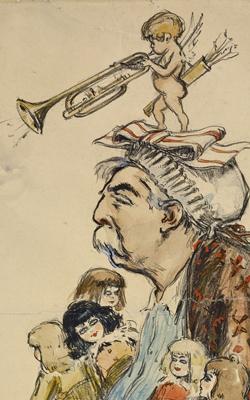 PORTRAIT DE GABRIEL FAURÉ 1845-1924