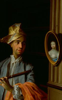 PORTRAIT D'HOMME AVEC FLÛTE